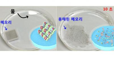 Soluble RRAM device (KAIST)
