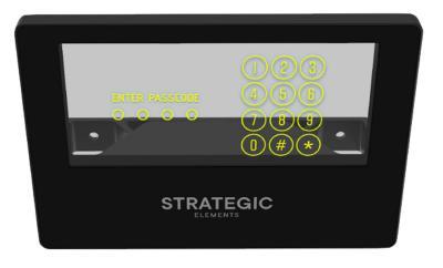 Strategic Elements transparent pintable RRAM demonstrator