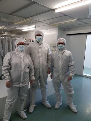 Weebit - Leti clean room photo