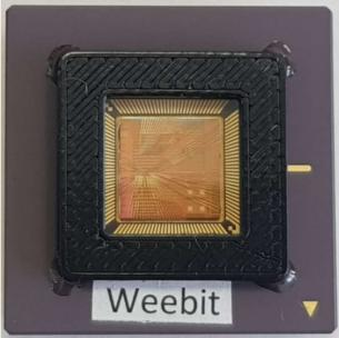 Weebit packaged RRAM chip photo
